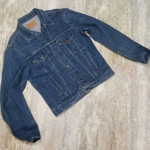 LEVIS VINTAGE 80S JEAN JACKET MADE IN USA